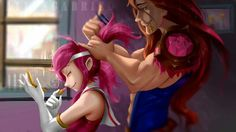 Lux and Taric.