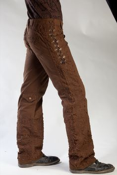 Yep, I WANT these!     Brown Flamenco Pants | Phoenix Rising Designs