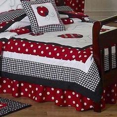 PolkaDot Ladybug Bed Skirt for Toddler Bedding Sets by Sweet Jojo Designs Sweet Jojo Designs http://www.amazon.com/dp/B00286D8MQ/ref=cm_sw_r_pi_dp_0cg9tb17D3P7B