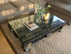 Pallet coffee table | Bel + co