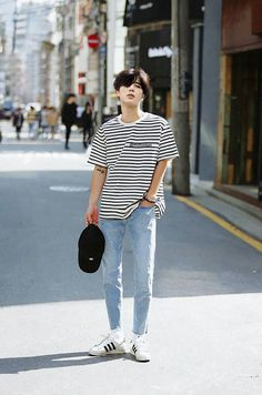 Korean Street Fashion - Life Is Fun Silo Kpop Outfits, Korean Outfits, Casual Outfits, Fashion Outfits, Korean Clothes, Men Casual, Korean Outfit Male, Korean Men Clothing, Guy Outfits