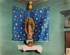 Our Lady of Guadalupe 1997 C-print Two sizes available: 30x40 inches (ed.5) and 16x20 inches (ed.15) From the series 'Home Altars of Mexico'