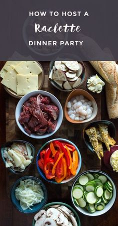 easy and simple ideas for what to serve at a raclette dinner. dinner party Real Food Raclette Dinner Party — improve your relationships Raclette Vegan, Fondue Raclette, Raclette Recipes, Raclette Party, Raclette Ideas Dinner Parties, Raclette Cheese, Dinner Ideas, Chefs, Dining