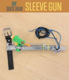 How To Make A DIY Sleeve Gun, Concealed Carry Plans, Sleeve Gun Tutorial, Hide Your Gun