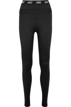 Nike - Zonal Strength Stretch-jersey Leggings - Black