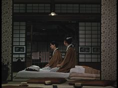 Still for 'Late Autumn', 1960 directed by Yasujiro Ozu
