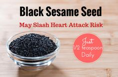 Eating Black Sesame May Slash Heart Disease Risk | TheSleuthJournal