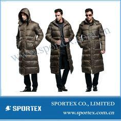 Men& Full Length Down Hooded Long Puffer Jacket Coat Winter With . Puffer Jackets, Winter Jackets, Winter Coat, Parka, Hoods, How To Remove, Men, Winter Coats, Cowls