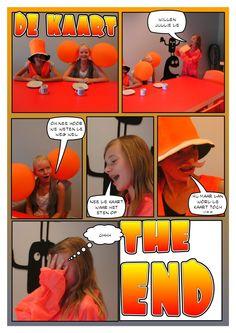 Lesbrief stripverhaal maken.  Een kerntitels van de Kinderboekenweek is: Het leven van een loser: zwaar de klos! Van Jeff Kinney. Leuk om voor te lezen en dan rondom het thema feest zelf een strip maken.