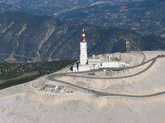Photo aérienne du Mont Ventoux - Vaucluse (84)