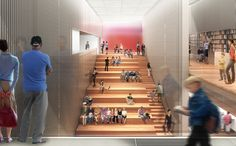 Design for New Donnell Library by Enrique Norten from NYTimes