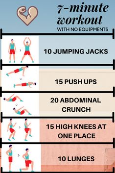 Helpful workout plans that are simply practical for newbies, both gents and ladies to take action. Check this workout exercise routine ref 5209587667 today. 7 Minute Workout Challenge, 7 Min Workout, Basic Workout, 7 Minute Workout Results, Workout Routines, Workout Videos, Weight Loss Workout Plan, At Home Workout Plan, At Home Workouts