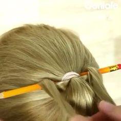 Super Cool Hair Trick Using A Pencil By @geniale.tricks • TAG 3 FRIENDS!!! Follow: @hair.place ❣ Follow: @hair.place ❣ • Also @tutorial.now Also @tutorial.now Also @style.place Also @style.place • #hair #style #styles #haircut #hairstyle #hairstyles #tutorial #diy #hairdo #moda #fashion #nails #makeup #girl #girls #love #pretty #fun #longhair #shorthair #instagram