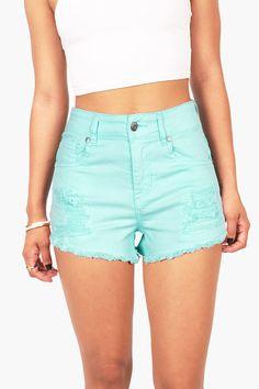 Slicker High Waist Shorts | Traditional