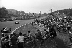 Spa, June 1962: Phil Hill battles Ferrari team mate Ricardo Rodriguez during the Belgian Grand Prix. Hill eventually prevailed, beating his rival to third place by just a tenth of a second. © Schlegelmilch