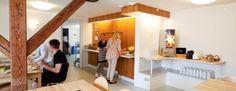 Danhostel Frederikshavn City byder på hygge i rolige omgivelser Hygge, Loft, Bed, Furniture, Home Decor, Lofts, Stream Bed, Interior Design, Home Interior Design
