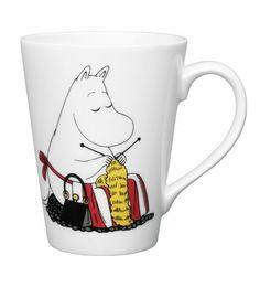 Buy Moomin Companionship Mug from our Mugs range at John Lewis & Partners. Moomin Shop, Moomin Mugs, Knitting Humor, Knitting Yarn, Mugs Uk, Tove Jansson, Kids Book Series, Knit Art, China Art