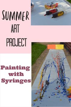 Trendy summer art projects for kids fun 58 ideas Steam Activities, Camping Activities, Art Activities, Educational Activities, Summer Art Projects, Projects For Kids, Kids Crafts, Summer Activities For Toddlers, Summer Science
