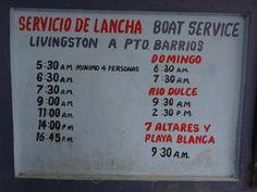 Image result for rio dulce livingston boat