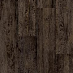 Take Home Sample - Barnwood Oak Dark Brown Vinyl Sheet - 6 in. x 9 in., Dark Brown Distressed Oak With Urethane Wear Layer