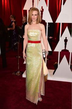 Nicole Kidman w sukni Louis Vuitton, Oscary 2015
