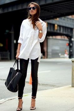 Trendy business casual work outfit for women (9)