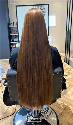 Long Silky Hair, Long Brown Hair, Super Long Hair, Beautiful Long Hair, Gorgeous Hair, Long Locks, Honey Colour, Straight Hairstyles, Hair Inspiration