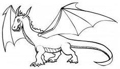 Pohádkový drak – omalovánky zdarma k vytisknutí – Malý Pablo