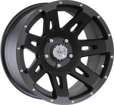 Rugged Ridge 17x9 Wheel in Satin Black Powder Coat for 07-12 Jeep® Wrangler & Wrangler Unlimited JK