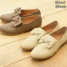 Oxfords with a girly twist :)