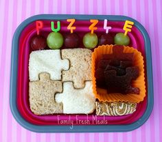 Puzzle Time School Lunch