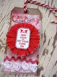Valentine Tag Valentines Day Valentine by SweetLibertyBarn on Etsy