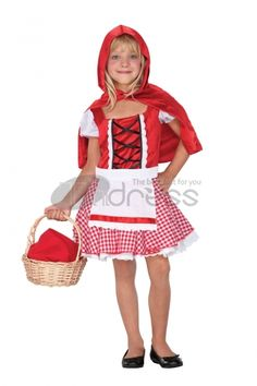 Halloween Costumes For Kids / Little Red Riding Hood Costumes Halloween Costumes Wholesale Halloween Costumes, Halloween Costumes For Kids, Happy Halloween, Red Riding Hood Costume, Halloween Accessories, Little Red, Harajuku, Plus Size, Sexy