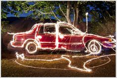 Long Exposure Photography with Sparklers and Fireworks