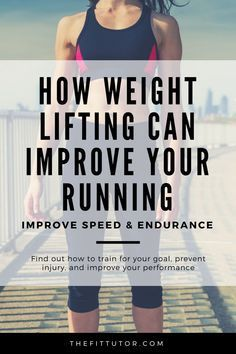 this article we explore how to use weight lifting for runners to improve speed, endurance, and performance! You'll also get the the hows & how often! Weight Training For Runners, Cardio Vs Weight Training, Cross Training For Runners, Strength Training For Runners, Endurance Workout, Weight Lifting Workouts, Strength Training Workouts, Running Workouts, Training Tips