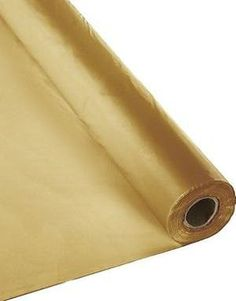 X 300 Ft Economy Banquet Roll Plastic Table Cloth - Metallic Gold Tablecloths For Sale, Tablecloth Rental, Linen Tablecloth, Table Linens, Plastic Tables, Plastic Tablecloth, Banquet Tables, Dining Table In Kitchen, Table Covers