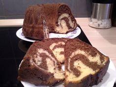 Mramor / Tigar kolač - Marbré ou gâteau tigré - Zebra Bundt Cake - YouTube