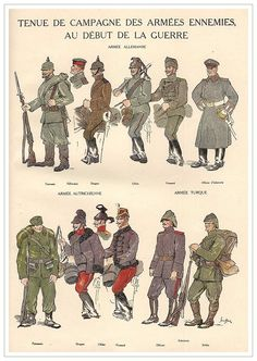 WWI Central Powers