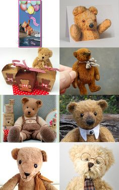 Teddy Bears by Dianna on Etsy--Pinned with TreasuryPin.com