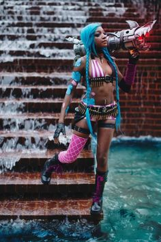 The Struggles And Triumphs Of Black Cosplay - COSPLAY IS BAEEE! Tap the pin now to grab yourself some BAE Cosplay leggings and shirts! From super hero fitness leggings, super hero fitness shirts, and so much more that wil make you say YASSS! Cosplay Jinx, Best Cosplay, Cosplay Girls, Cosplay Costumes, Amazing Cosplay, Cosplay Ideas, Cosplay Style, Female Cosplay, Cosplay Outfits