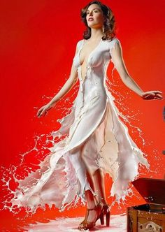 Splash it on. Fashion