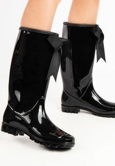 Cizme de cauciuc Pikem Negre Rubber Rain Boots, Shoes, Fashion, Moda, Zapatos, Shoes Outlet, Fashion Styles, Shoe, Footwear