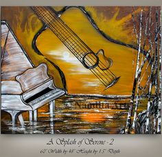 Music Painting, Serenity, Contemporary Art, Abstract Art, Paintings, Outdoor Decor, Artist, Shop, Crafts