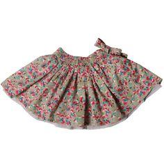 Taupe Ditsy Print Skirt Arsene Et Les Pipelettes