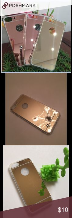 iPhone 7 & PLUS mirror cover GOLD Soft thin cover. Available in 2 sizes Accessories Phone Cases