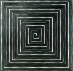 Frank Stella Minimalism | Frank Stella / The Marriage of Reason and Squalor 1959