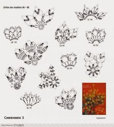 snowflakes- at the site, there are many pages of examples Crochet Snowflake Pattern, Crochet Stars, Crochet Snowflakes, Crochet Cross, Thread Crochet, Knit Or Crochet, Crochet Motif, Crochet Doilies, Crochet Flowers