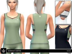 Workout Empire - Insignia collection item  Found in TSR Category 'Sims 4 Female Everyday'