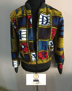 Our bomber jackets are the best.a trial will clear ur doubts. Available on order in various sizes Bomber Jackets, Trials, Ankara, Motorcycle Jacket, The Best, Fashion Inspiration, Instagram, Dresses, Smock Tops