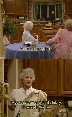 Oh gosh, yes I have such days. side note, *This Lady* ADORES The Golden Girls :D
